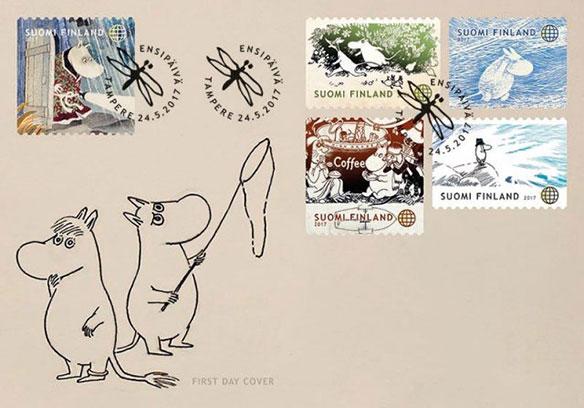 ブログ更新『トーヴェ・ヤンソンと「切手」との深いかかわり』