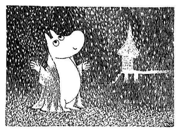 ブログ更新「ムーミン谷の冬と、東京の冬」