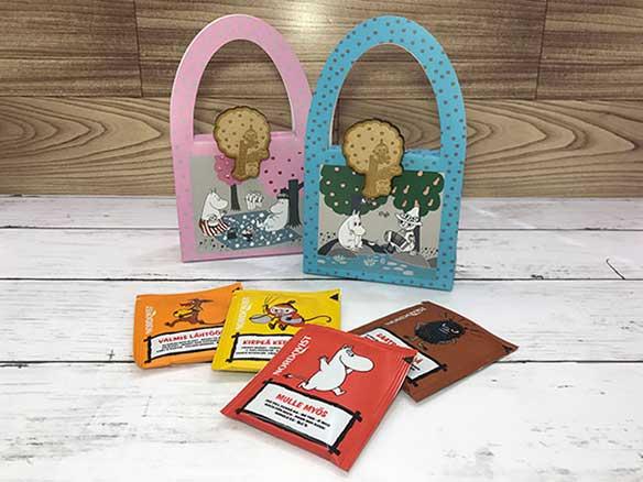 ブログ更新「スナフキンのママのおばさんからのプレゼント」