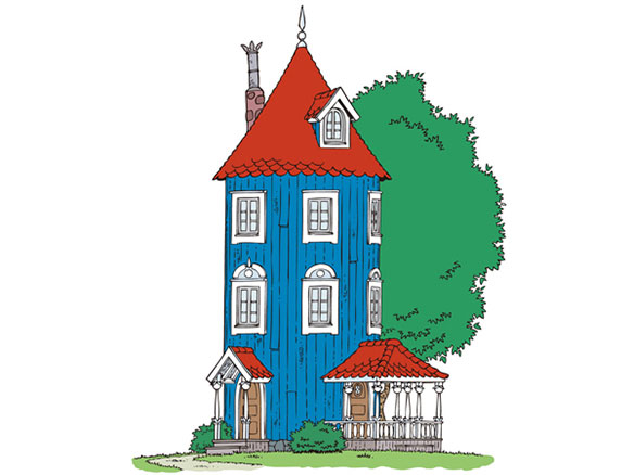 ブログ更新「美しいムーミン屋敷のひみつ」