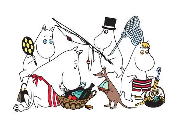 ブログ更新「ムーミン一家のピクニック」