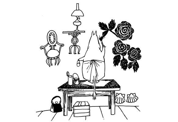ブログ更新「ムーミンママの庭」
